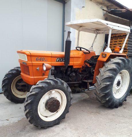 Tracteur fiat-640-dt